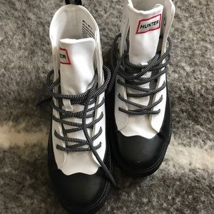 Hunter for target canvas rain shoes